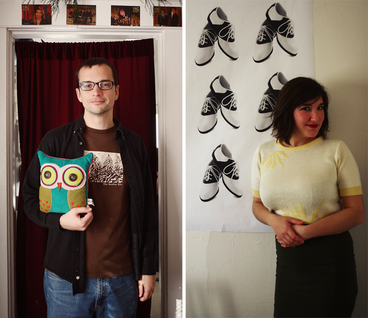mike and owl, audrey jacq