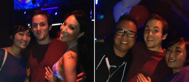 Asa Akira Strip Club