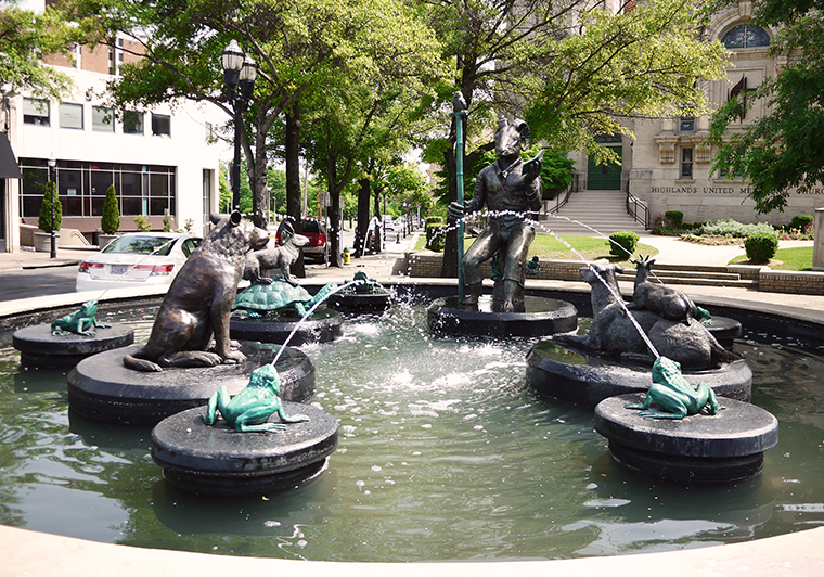 storyteller fountain