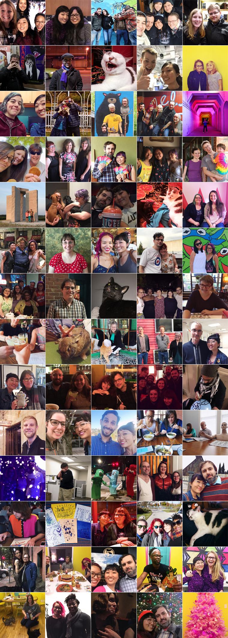 2016 snapshots