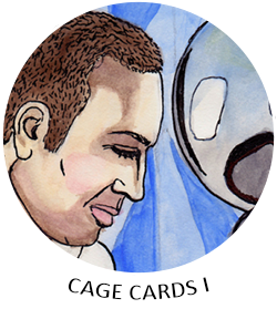 Nic Cage Trading Cards I