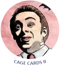 Nic Cage Trading Cards II