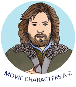 Movie Characters A-Z